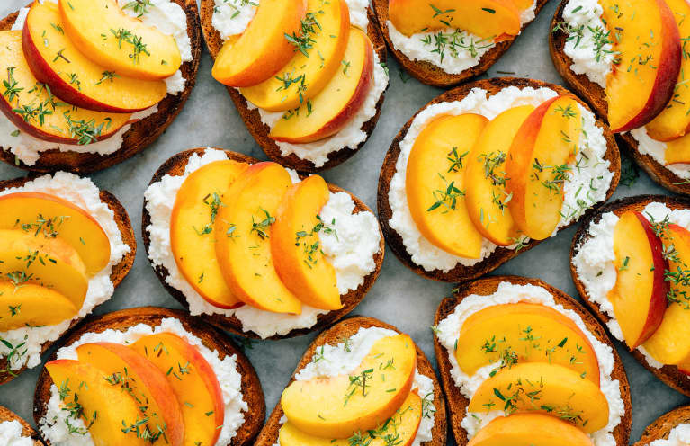 Have You Seen The Popular Ricotta Toast Trend? Here's How To Make It Dairy-Free