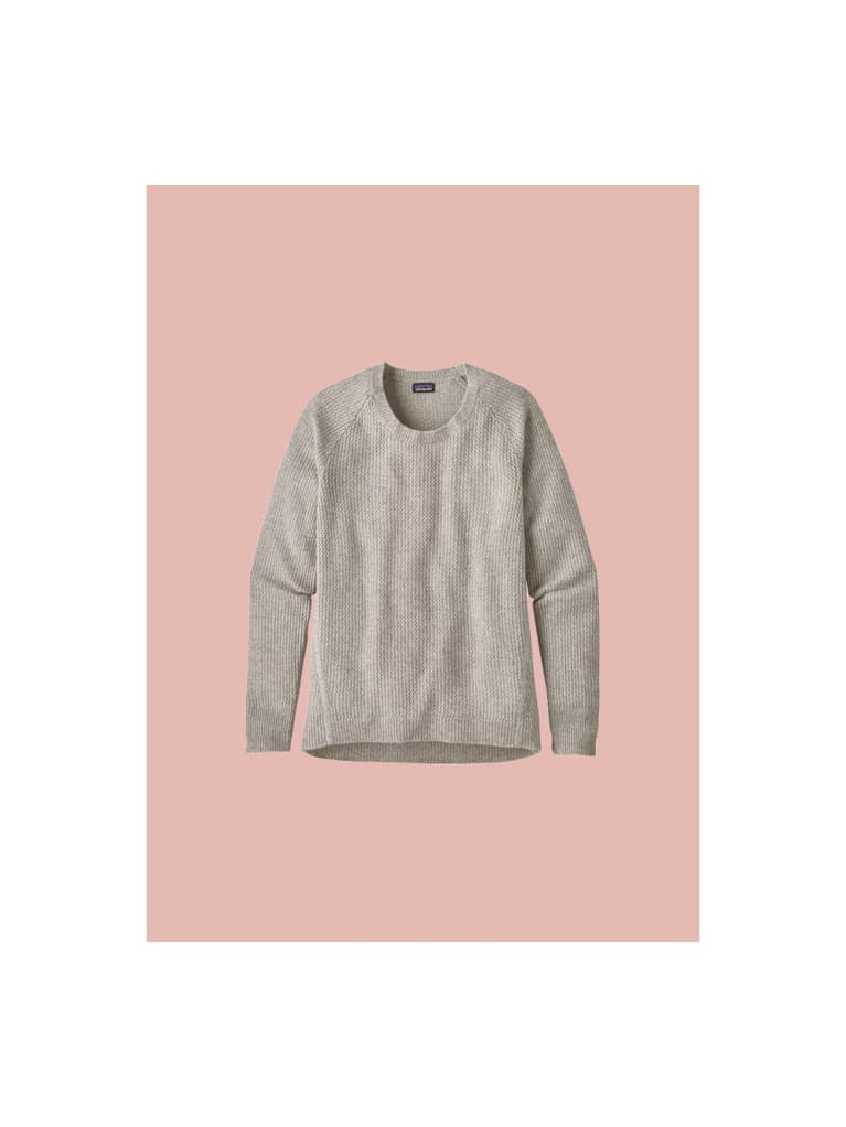 1. Patagonia recycled cashmere shirt