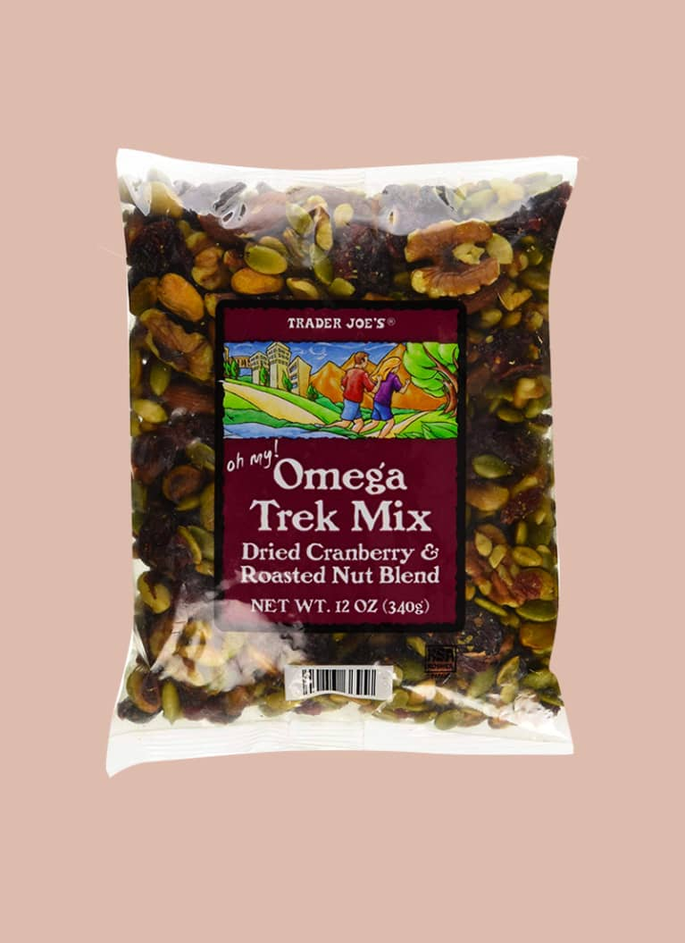 4. Oh My! Omega Trek Mix With Omega Fortified Cranberries