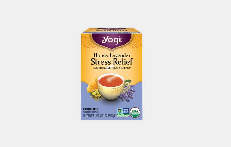 <p>Honey Lavender Stress Relief Tea</p>