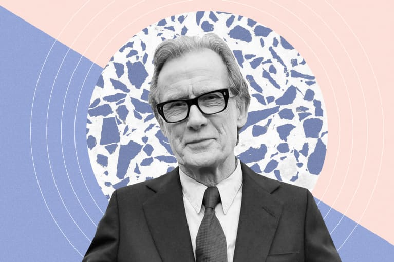 Bill Nighy's Strategy For Managing Anxiety Is All About Self-Love, Actually