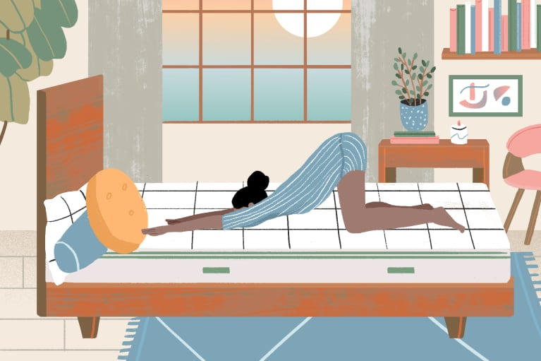 The Best In-Bed Stretches For Wakeful Winter Mornings