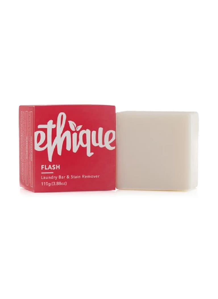 bar soap in pink packaging