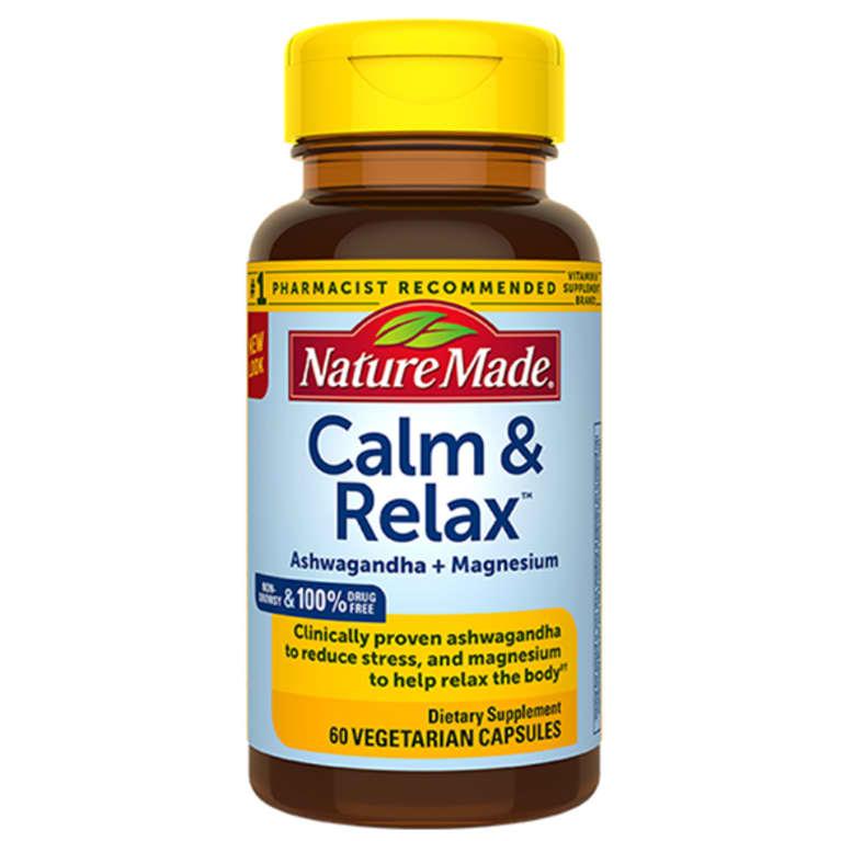 Nature Made Calm & Relax supplement