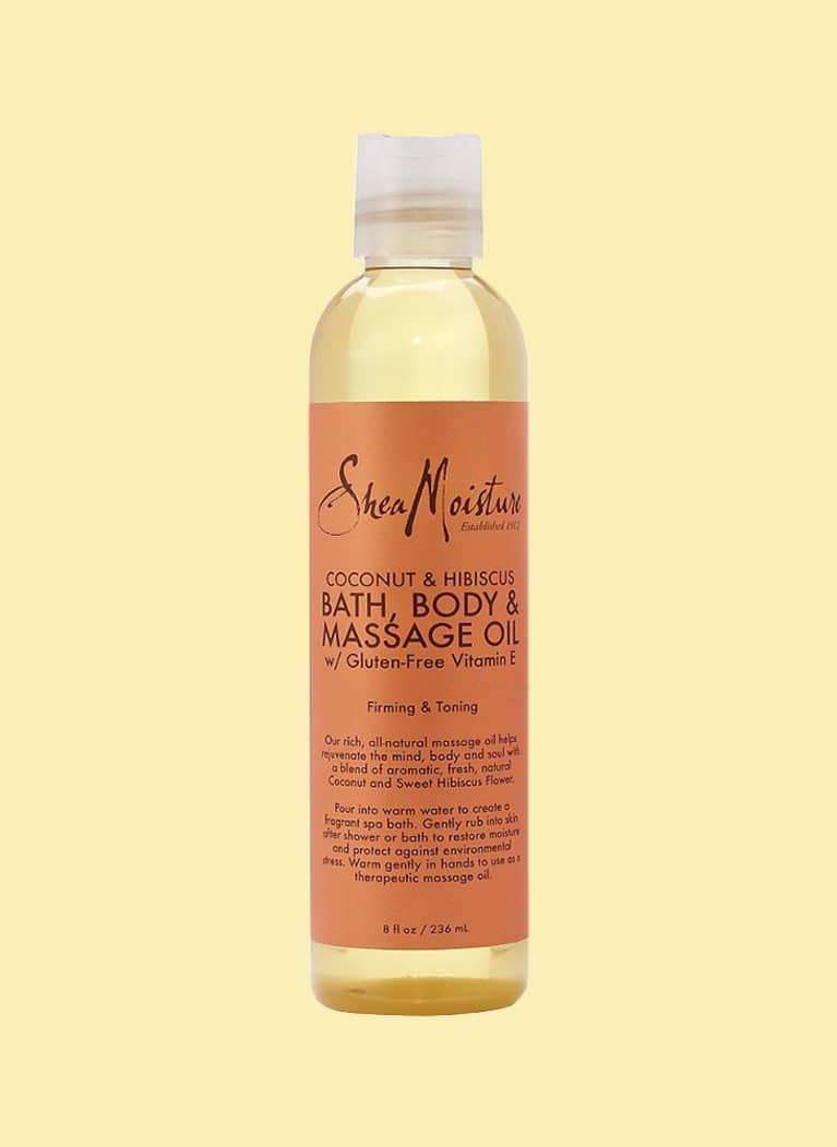 SheaMoisture Coconut & Hibiscus Bath Body & Massage Oil