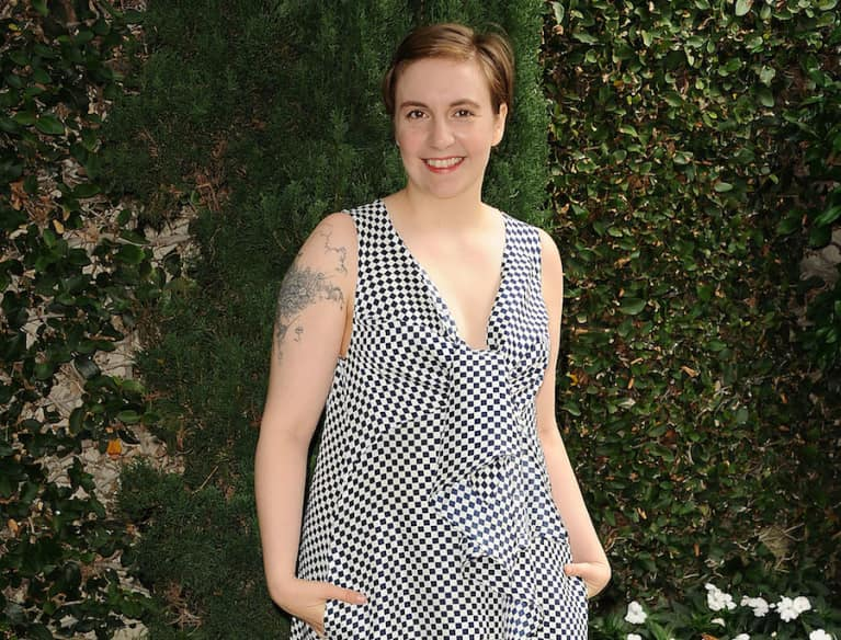Lena Dunham Demonstrates How We All Feel When We're Trying To Meditate