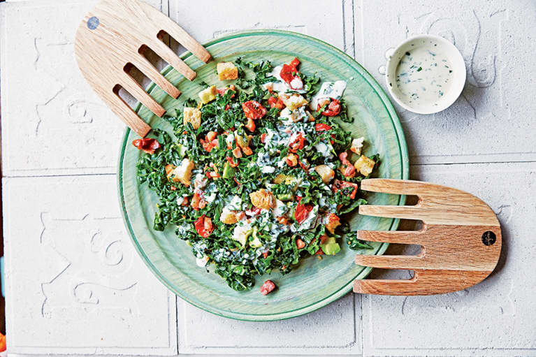 Think Outside The Sandwich: BKT (Bacon Kale Tomato) Salad