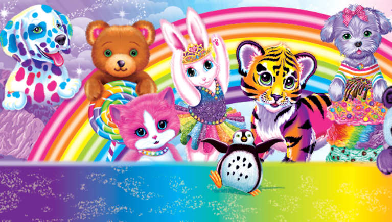 Great News, '90s Babies! Lisa Frank Adult Coloring Books Are Coming
