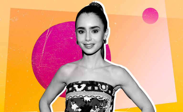 The Immune-Supporting Secret Lily Collins Spritzes Each Morning