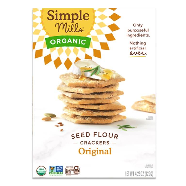 simple mills seed crackers