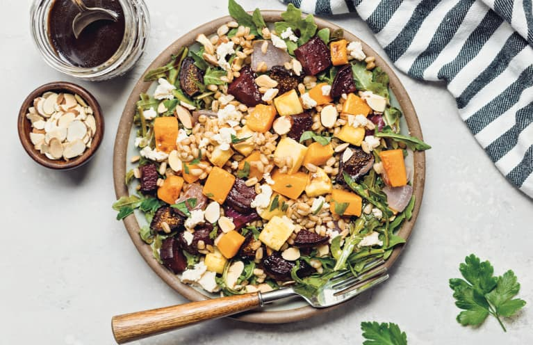 This Naturally Sweet & Salty Salad Is Perfect For The Start Of Springtime Eating