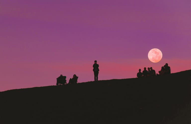 How To Navigate Thursday's Powerful Full Moon, Based On Your Sign