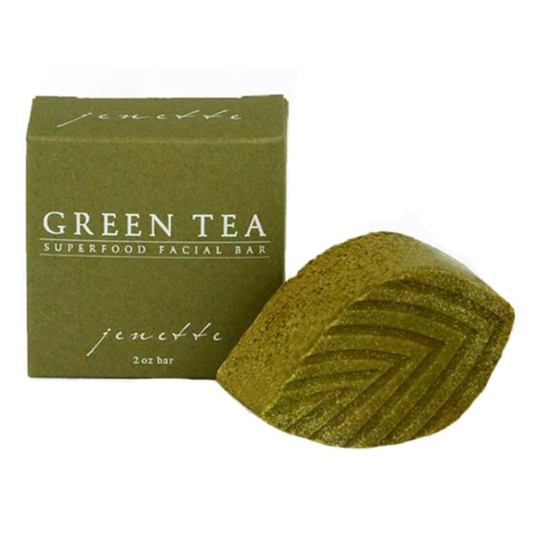 jentte Green tea face bar