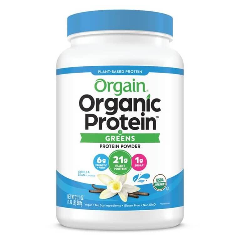 Orgain protein & greens