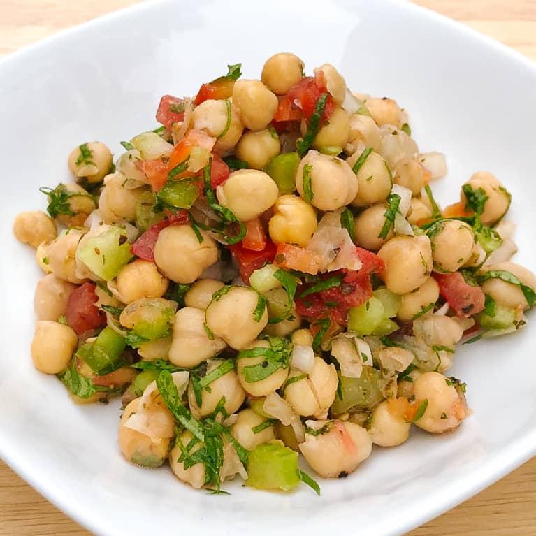 Citrus Chickpea Salad