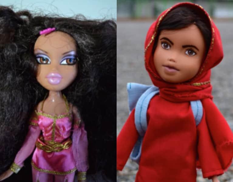 This Artist Transforms Bratz Dolls Into Inspiring Role Models