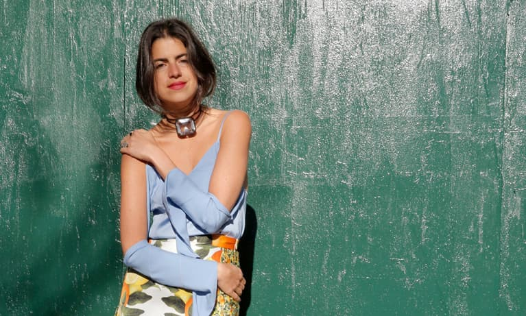 """Leandra """"The Man Repeller"""" Medine On Working Out And #Wellth"""