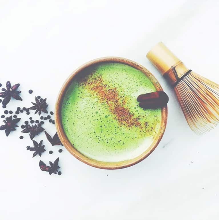 If You're Not Adding This Ingredient To Your Matcha, You're Missing Out On Powerful Gut Healing Benefits