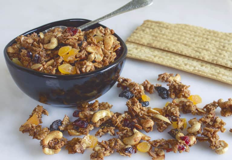 Make The Most Of Your Matzo With This Gluten-Free Granola Recipe