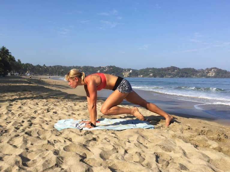 A 12-Minute Full-Body Workout You Can Do On Vacation