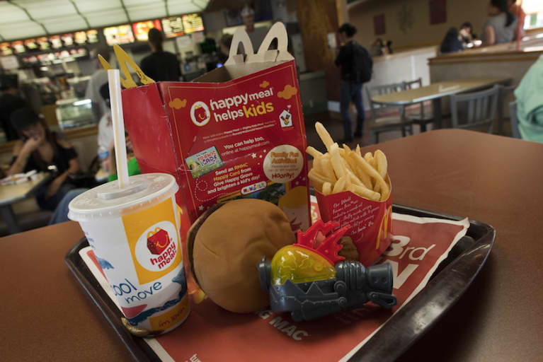 This Is What A McDonald's Happy Meal Looks Like After 6 Years