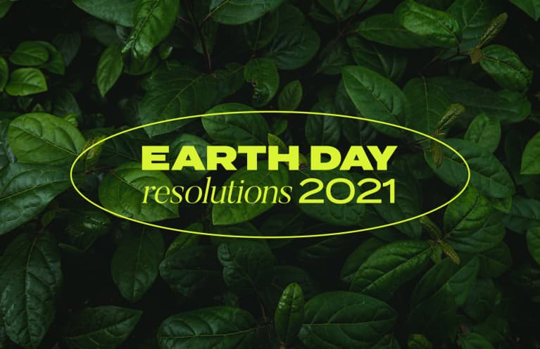 Earth Day Resolutions 2021 logo