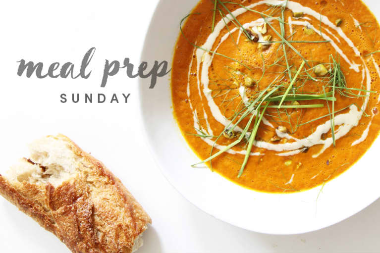 5 Days Of Healthy Meals: Beautifying Moroccan-Spiced Carrot + Tomato Edition