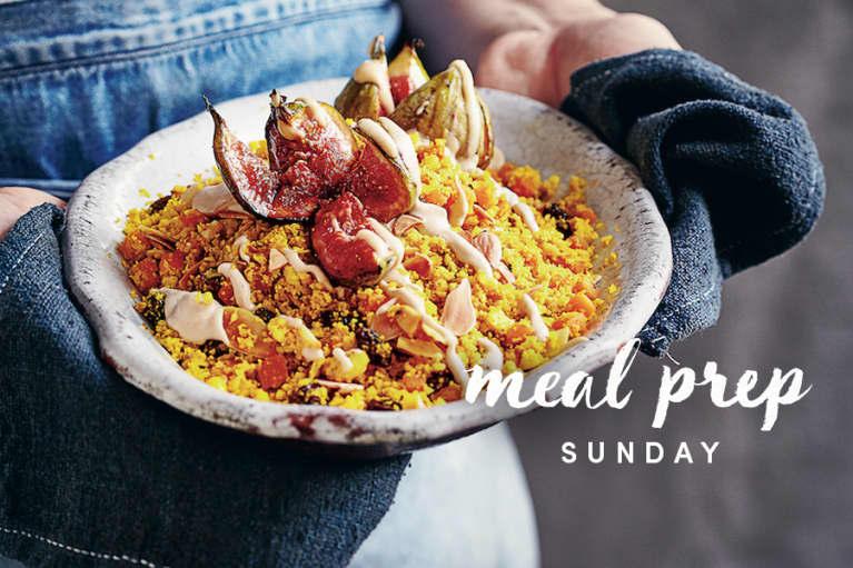Meal Prep Sunday: Anti-Inflammatory Cauliflower Couscous + 5 Ways To Serve It