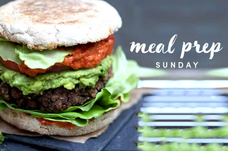 Meal Prep Sunday: Antioxidant-Rich Wild Rice Lentil Burgers + 5 Ways To Eat Them