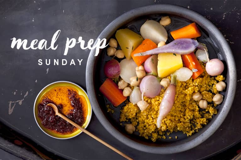 Meal Prep Sunday: A Moroccan Millet That Will Make Your Skin Glow + 5-Minute Tweaks For 4 Days Of New Meals