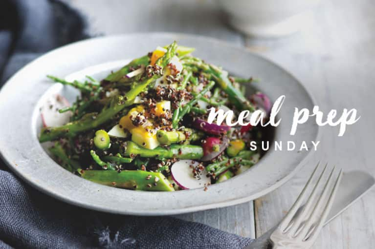 Meal Prep Sunday: Thyroid-Boosting Asparagus Bowl Edition