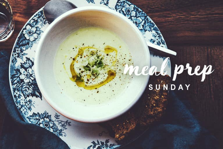 Meal Prep Sunday: Leek Soup That's Great For Your Gut