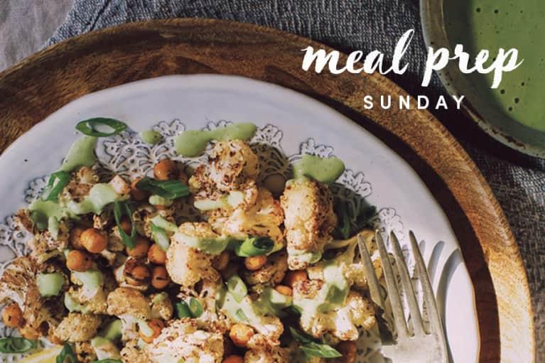 5 Days Of Healthy Meals: Anti-Inflammatory Cauliflower & Tahini Edition