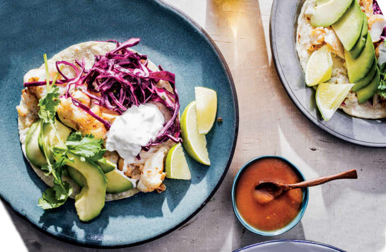 The World's Best (Healthy) Fish Tacos Take Just 20 Minutes To Make