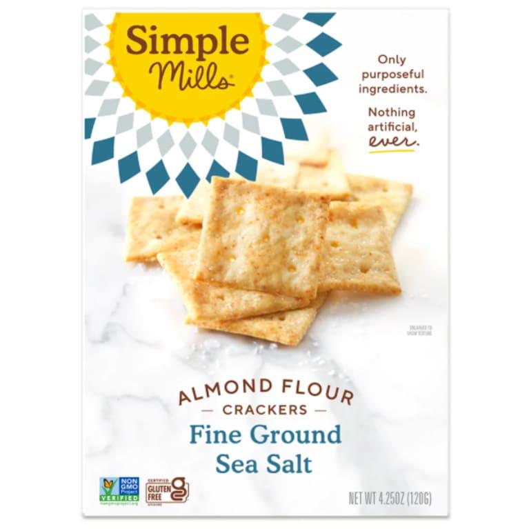 simple mills almond crackers