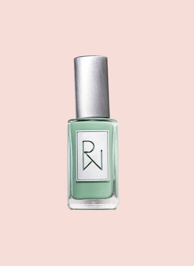 rooted woman nail polish