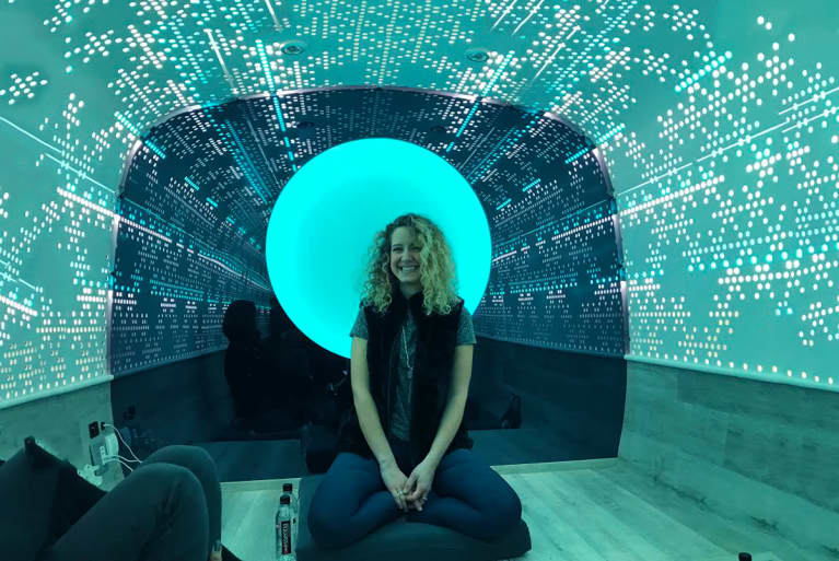 This May Be The Most Unique Place You'll Ever Meditate