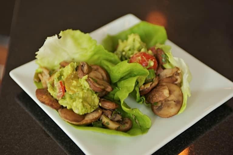 Recipe: Mushroom Tacos In Butter Lettuce