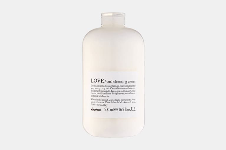 davines curl cleansing cream