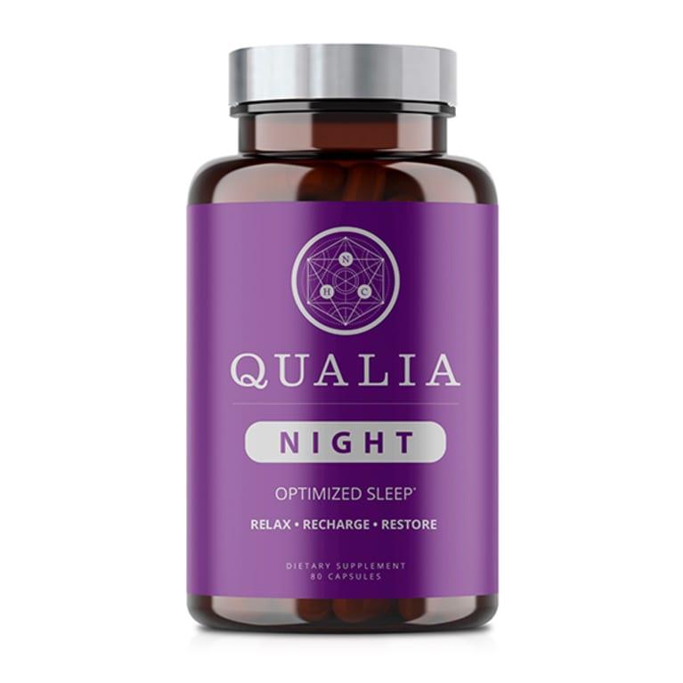 purple supplement bottle