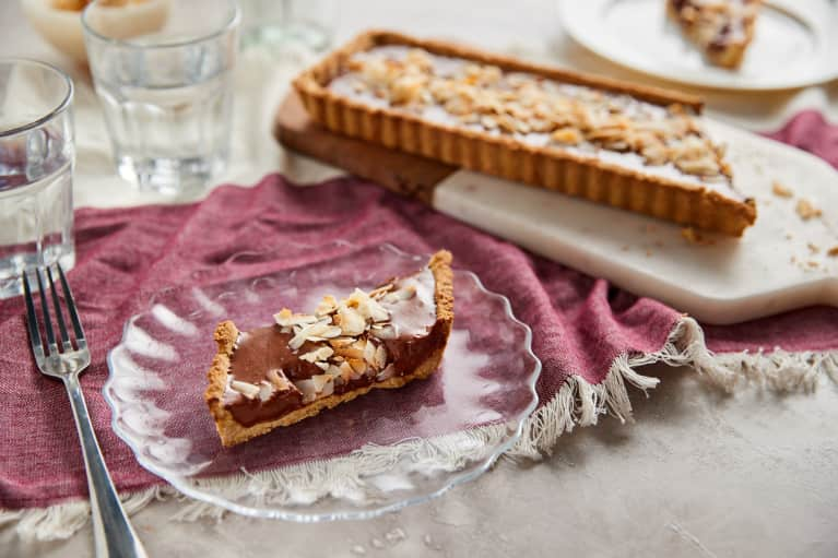This Holiday-Worthy Chocolate Mousse Tart Has A Healthier Twist