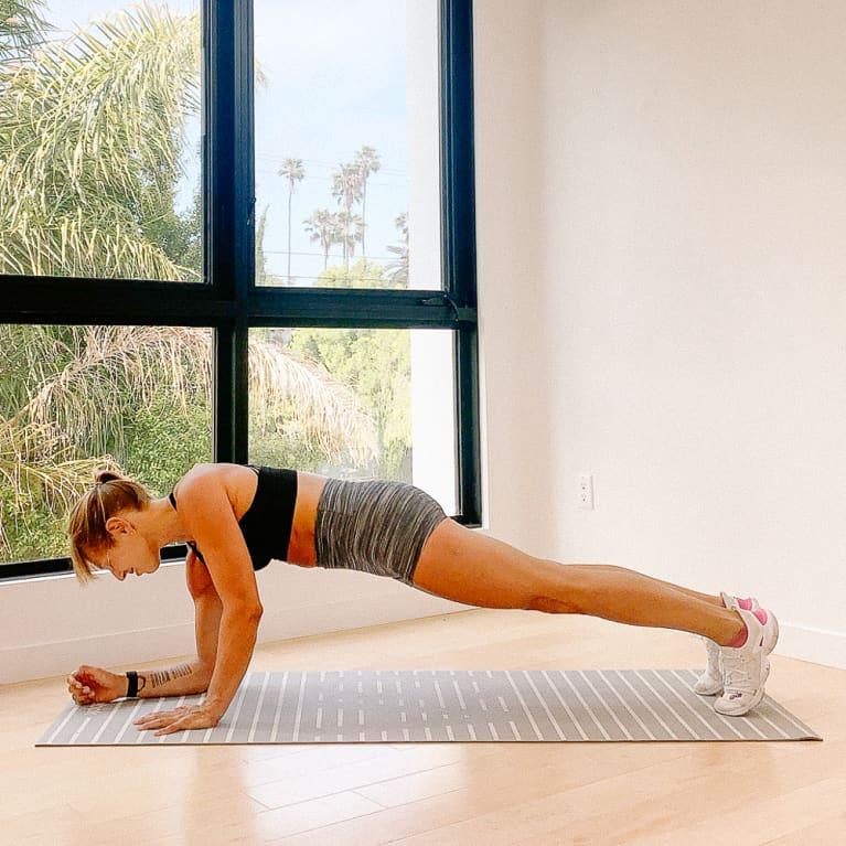 Plank Get Ups