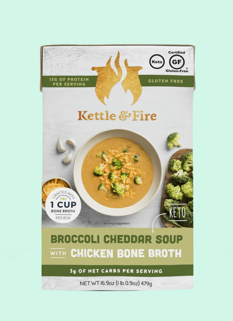 Kettle & Fire Broccoli Cheddar Keto Soup