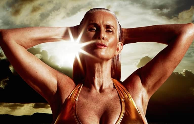 A 56-Year-Old Mother Is A Model In This Year's Sports Illustrated Swimsuit Issue