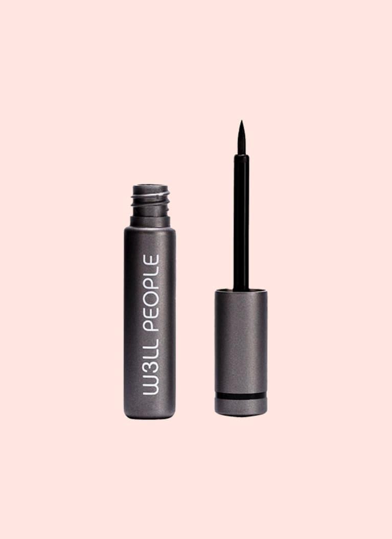 Liquid liner: W3LL People Expressionist Liquid Eyeliner Black