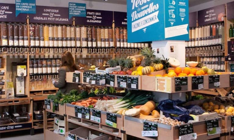 This Is What A Zero-Packaging Supermarket Looks Like