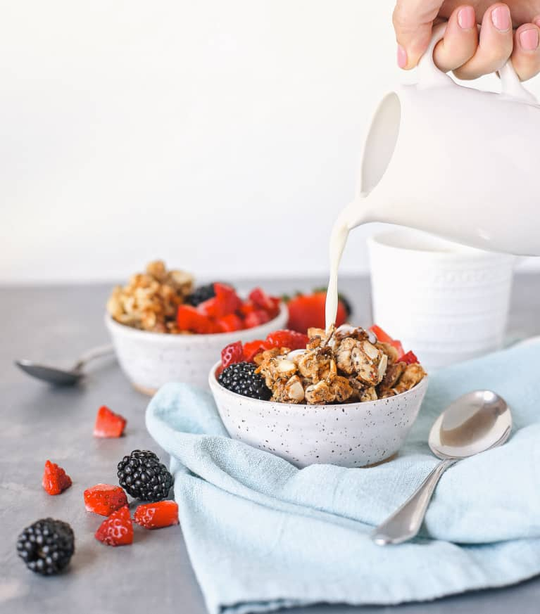 Make All 3 Components Of This Vegan Yogurt & Granola Bowl Yourself