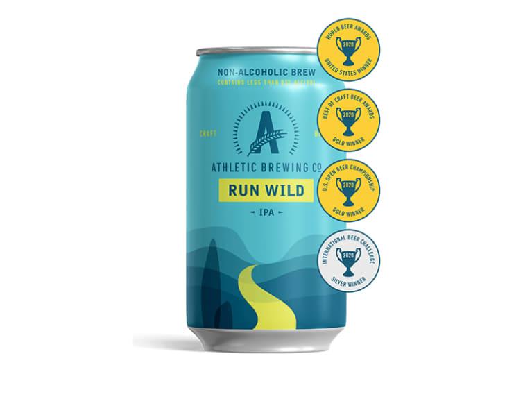 Run Wild IPA (Non-Alcoholic)