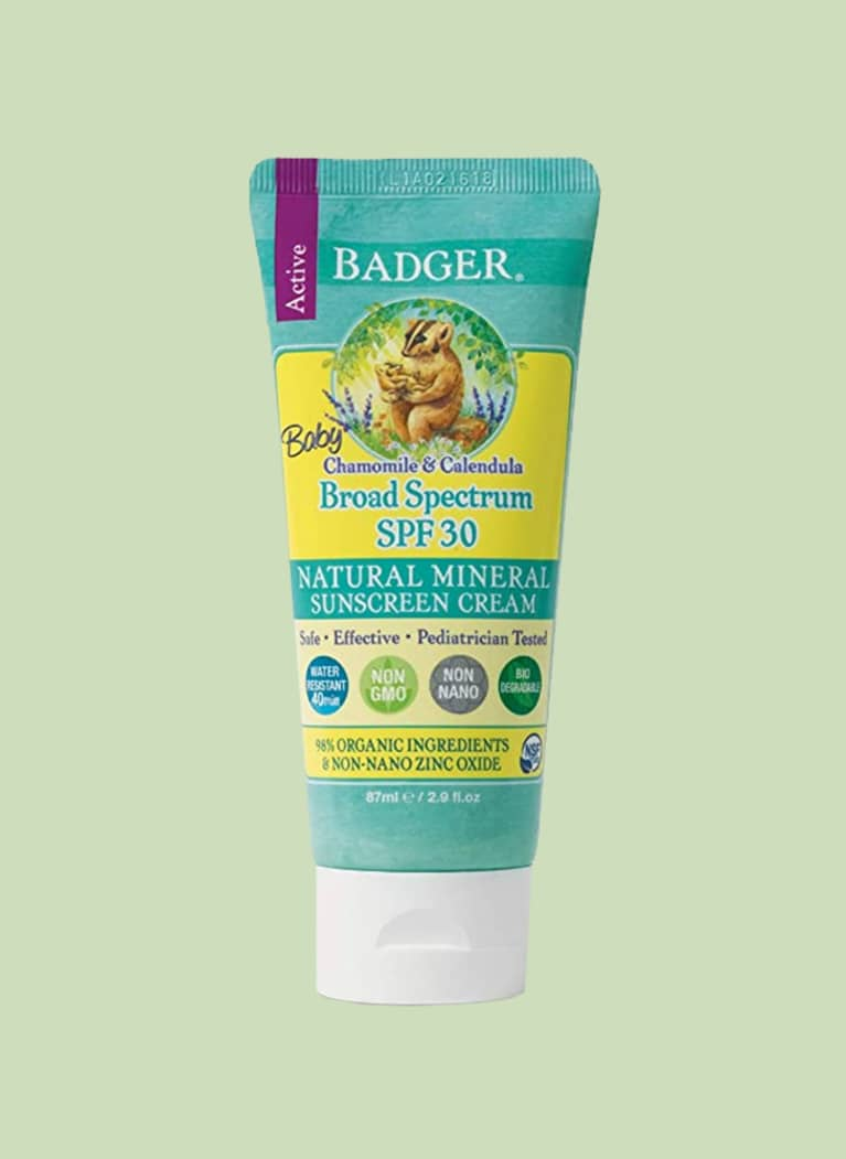 Badger SPF 30 Baby Sunscreen