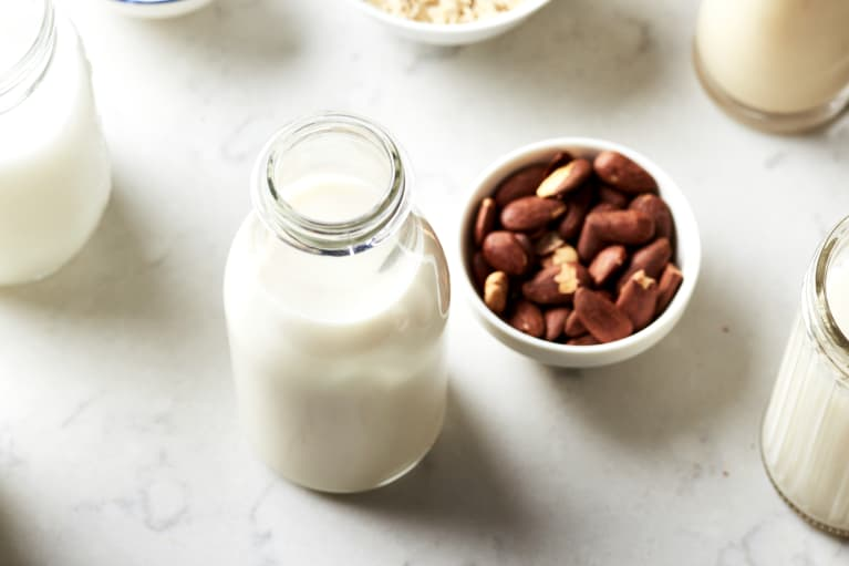 How To Make Your Own Nut Milk In 2 Minutes Flat—No Straining Required